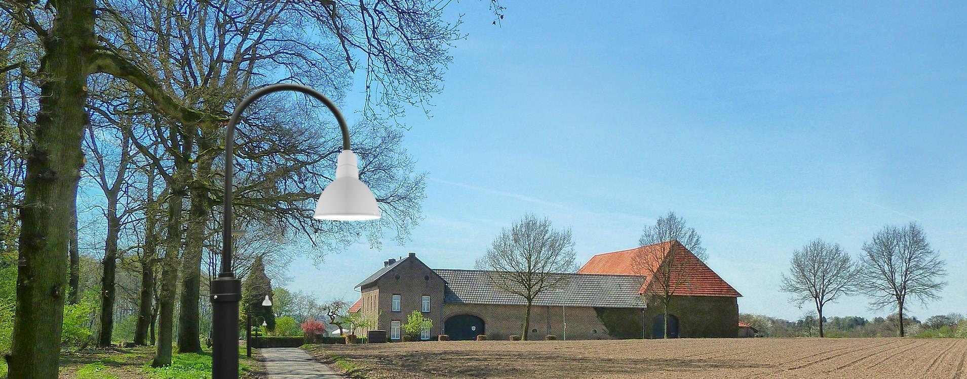 Customizable Blackspot LED Barn Lamp Post weatherproof