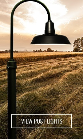 Cocoweb LED Barn Lamp Post
