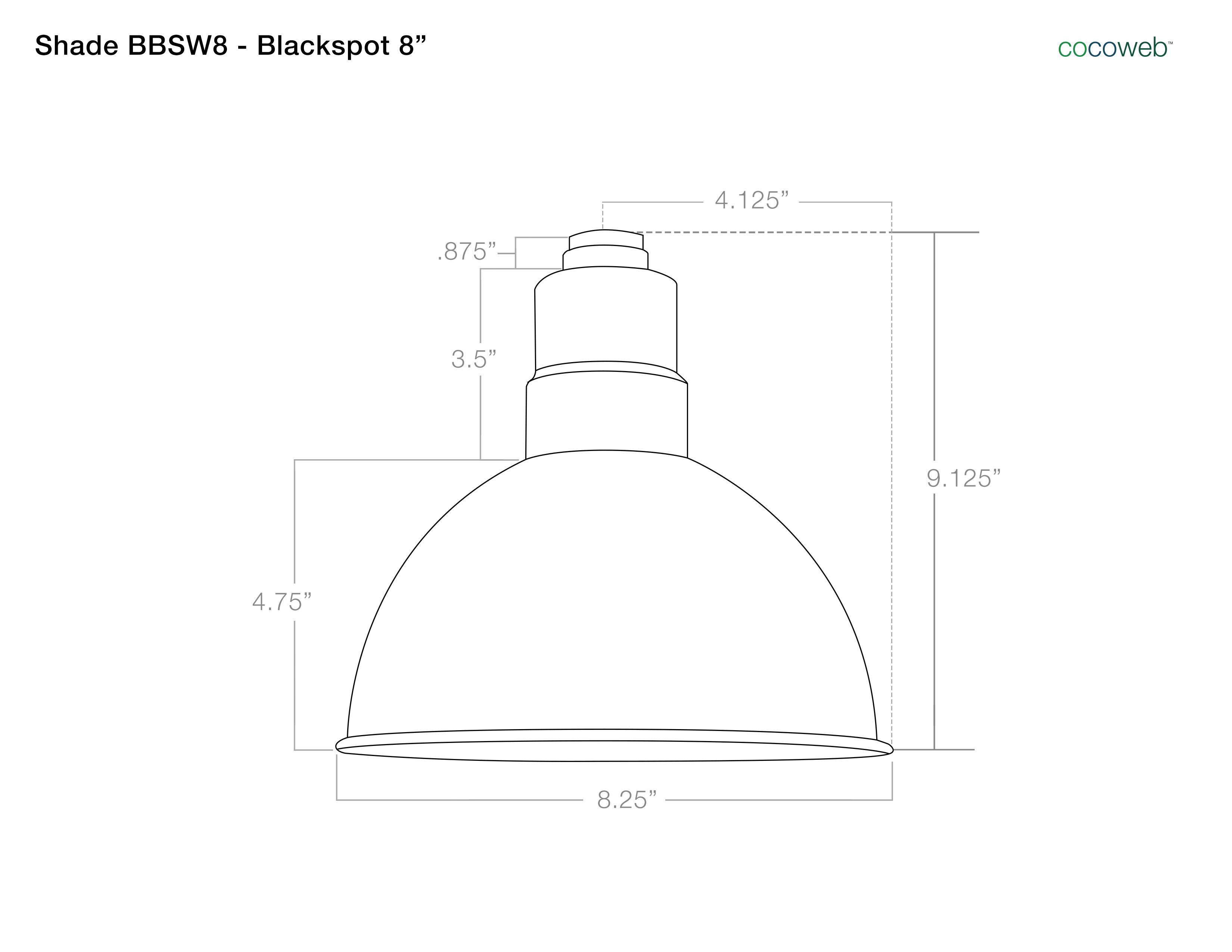 Barn Light Dimensions