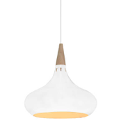 Manarola LED Pendant Light in White