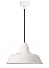 Goodyear LED Pendant Light in White