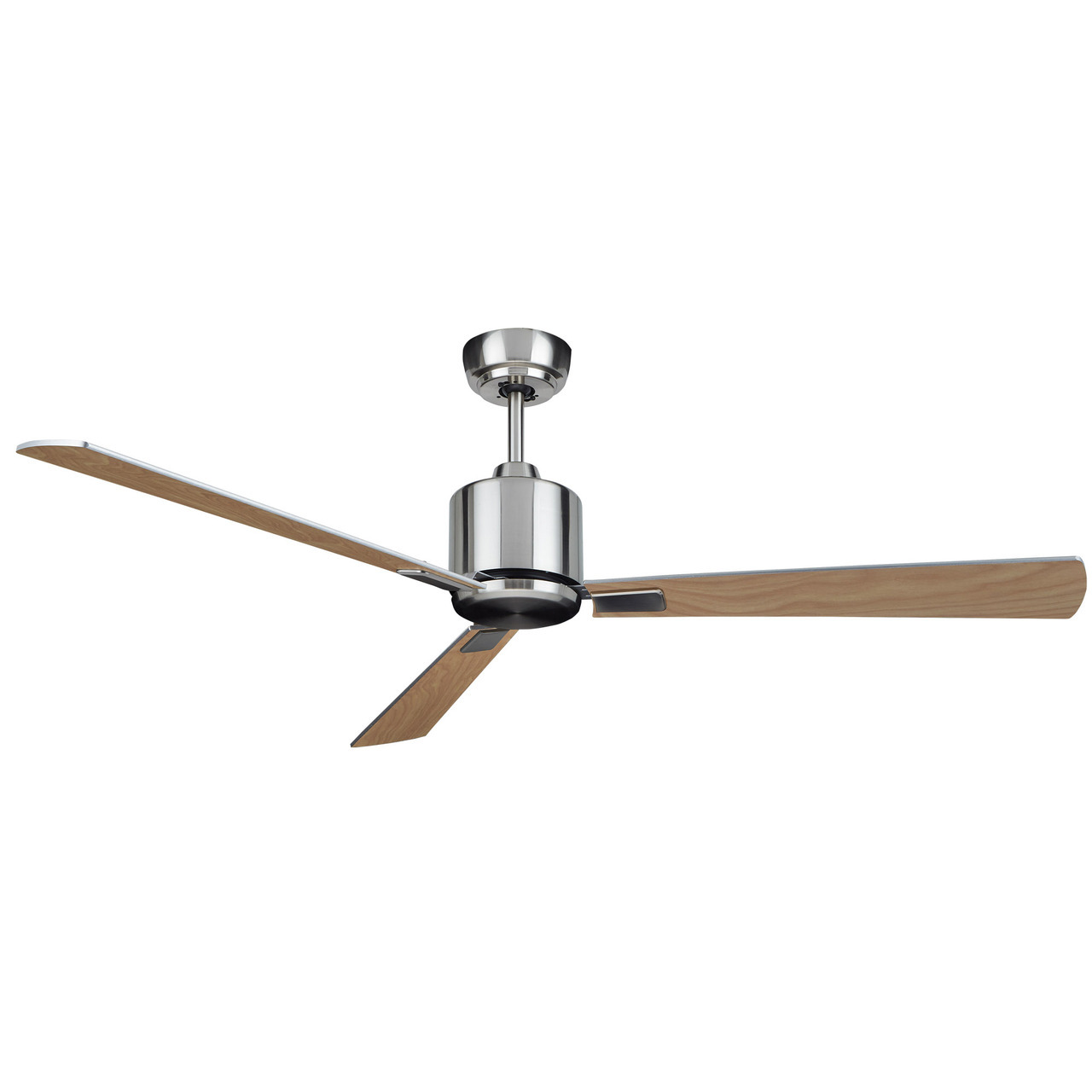 KittyHawk Ceiling Fan Silver 52in