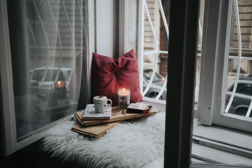 cozy home nook