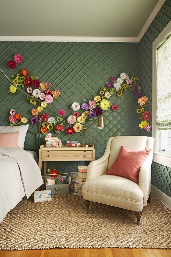 garden oasis themed room