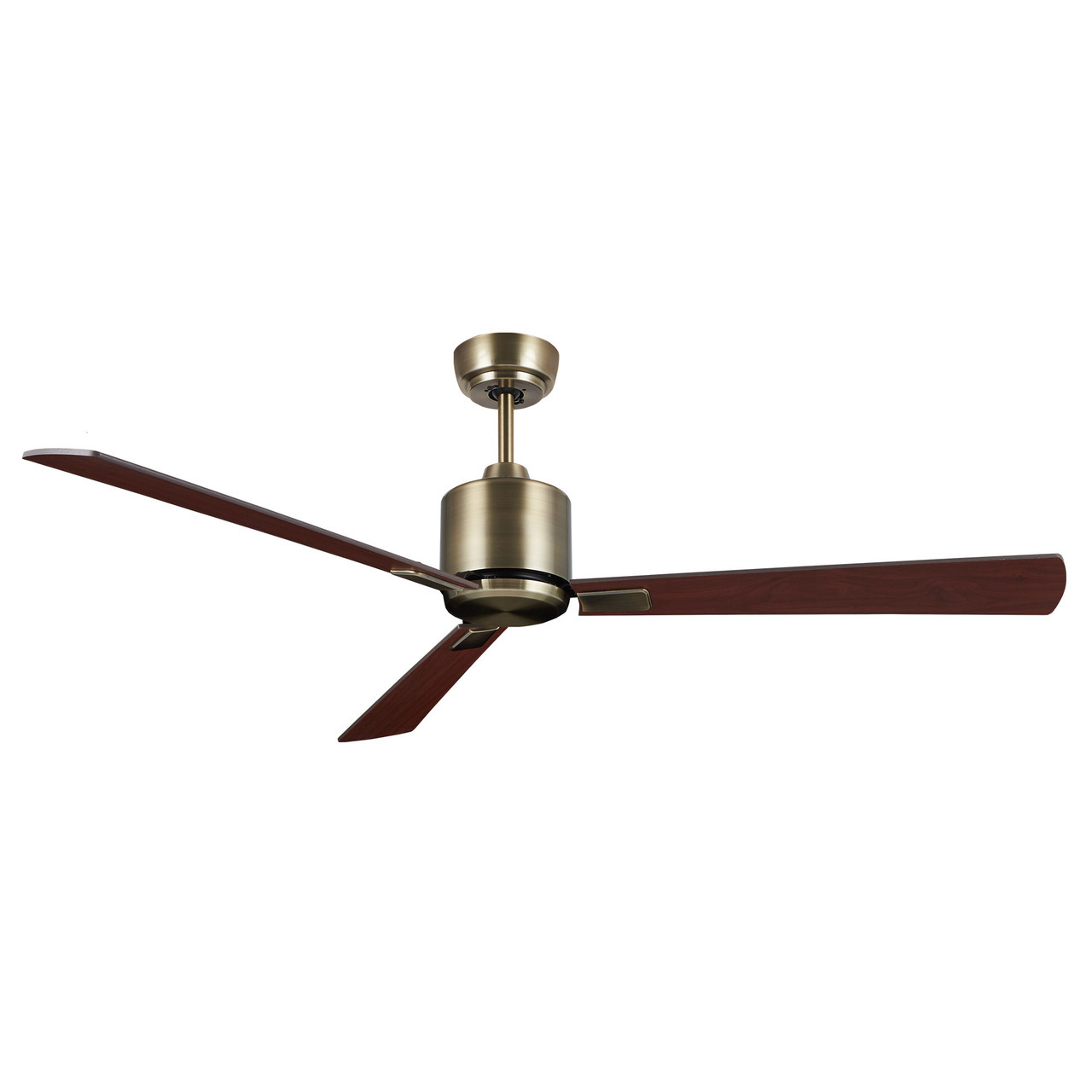 KittyHawk Ceiling Fan Antique Brass 52in