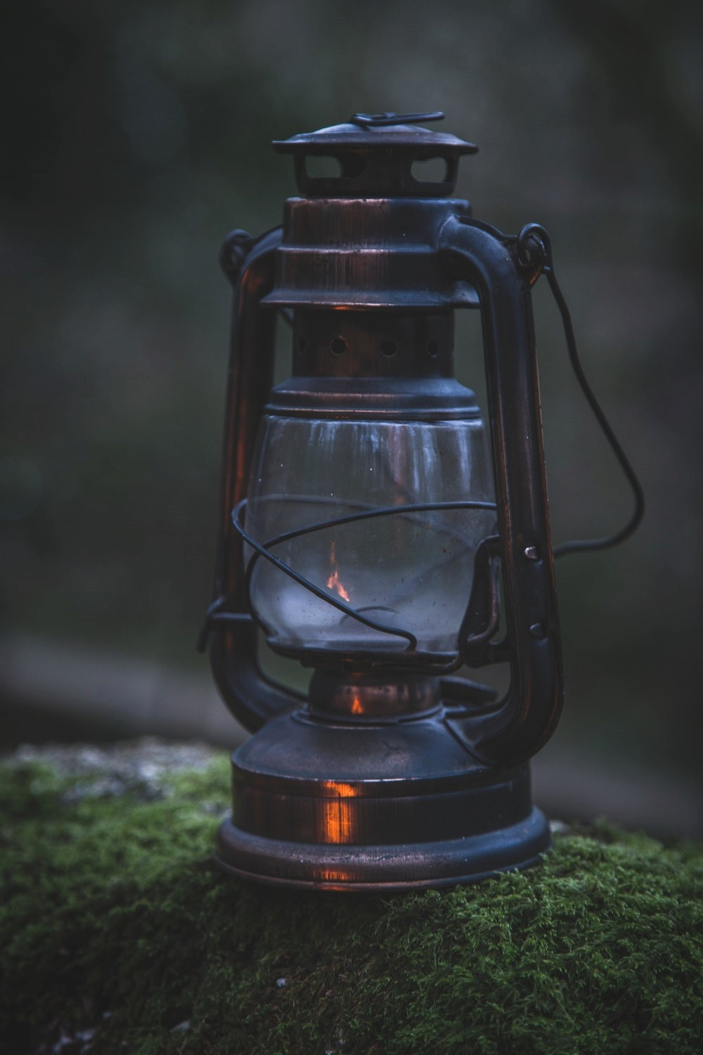 lantern vintage lighting outdoors