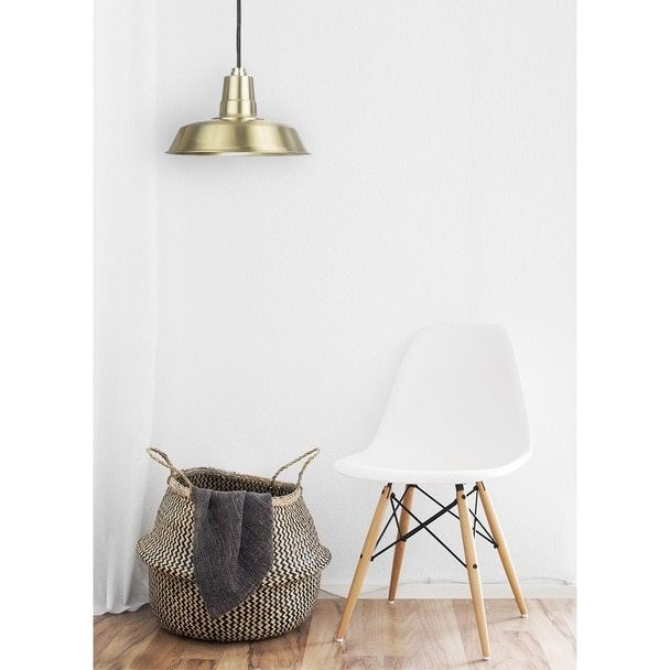 solid brass oldage pendant cocoweb pendant and white chair