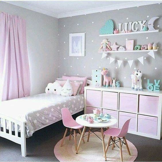 Rainbow Themed Room: Best 2019 Bedroom Themes For Girls