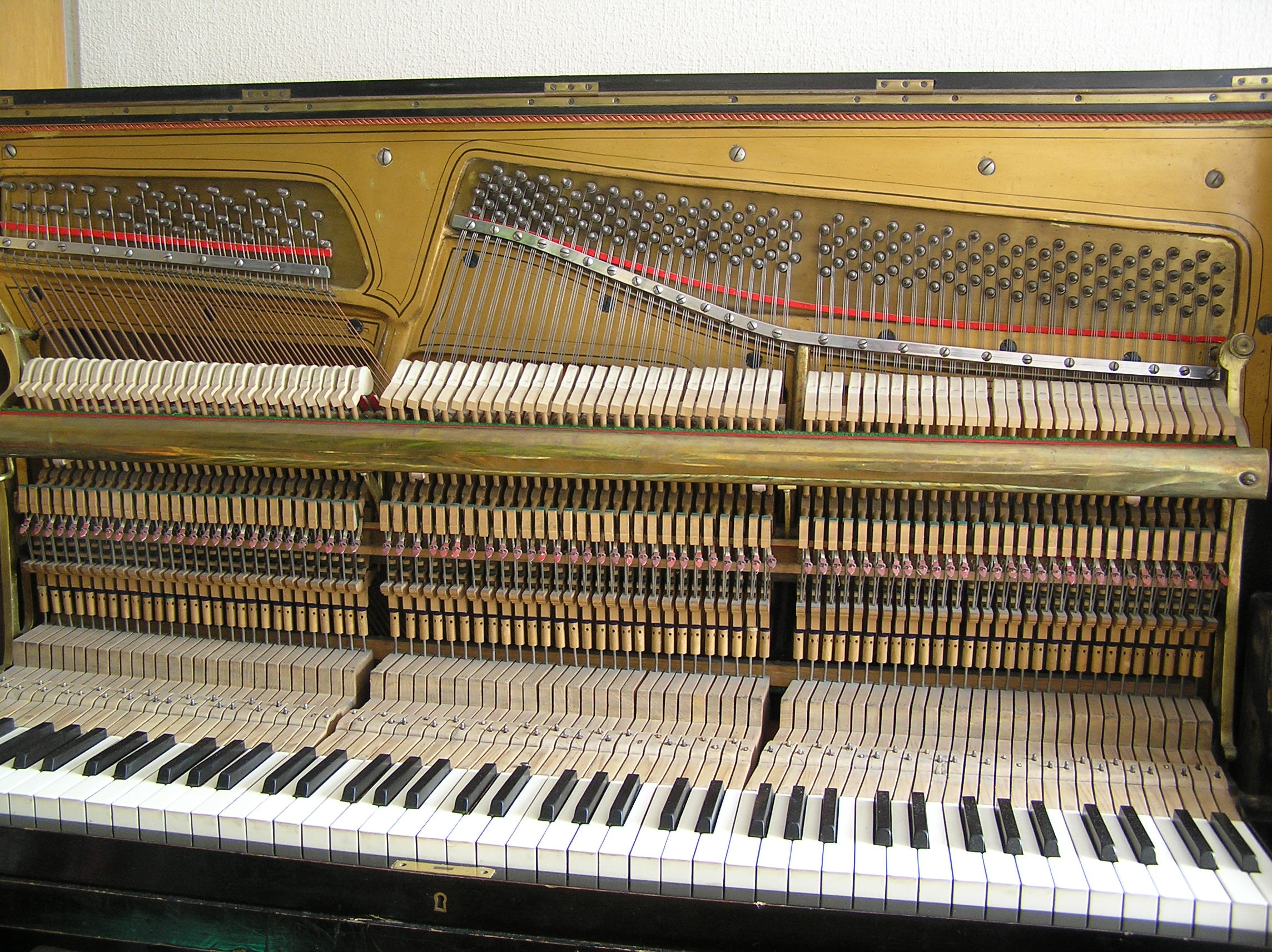 Upright Piano Strings