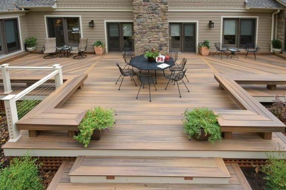 6 Creative Deck Designs With Built In Bonus Features Cocoweb Quality Led Lighting Specialists