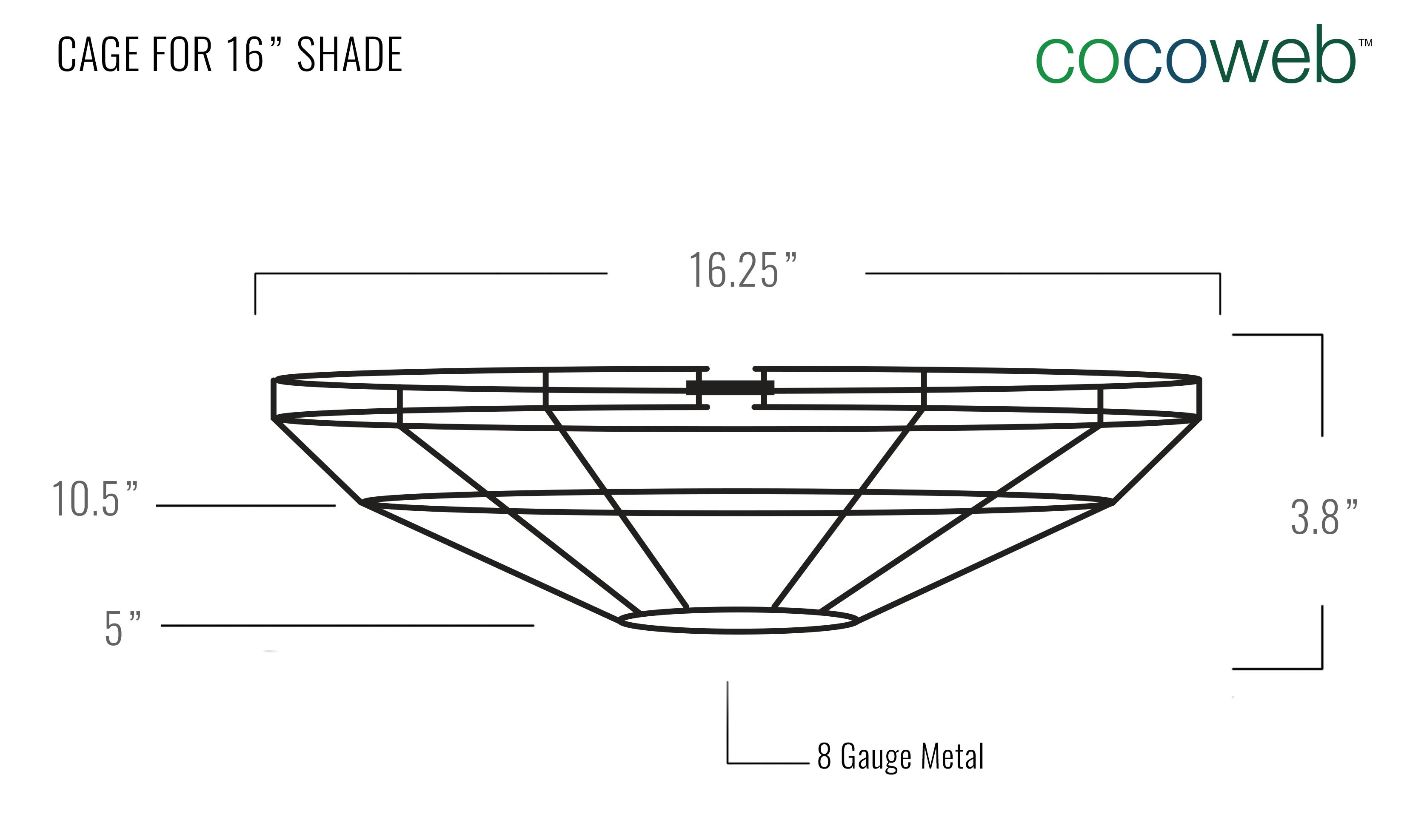 Barn Light Cage Dimensions
